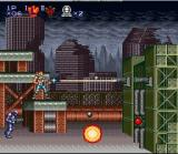 Contra III: The Alien Wars SNES Level 1