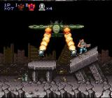 Contra III: The Alien Wars SNES Breathtaking effects!