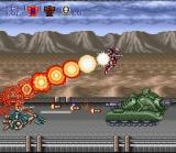 Contra III: The Alien Wars SNES Level 4