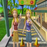 Mary-Kate and Ashley: Sweet 16 - Licensed to Drive PlayStation 2 The game starts with an animation.