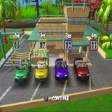 Mary-Kate and Ashley: Sweet 16: Licensed to Drive PlayStation 2 Adventure mode is a kind of animated board game.