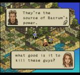 Tactics Ogre  PlayStation Some of the dialogue at the beginning