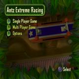 Antz Extreme Racing PlayStation 2 The game's main menu