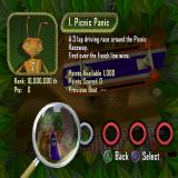 Antz Extreme Racing PlayStation 2 The first race is 'Picnic Panic'
