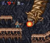 Contra III: The Alien Wars SNES Entering the last level!