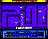 Phantom BBC Micro First screen in the first level