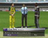 Brian Lara International Cricket 2005 PlayStation 2 Playing a World XI match against Australia.