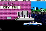 Police Quest: In Pursuit of the Death Angel Apple II City jail.