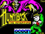 Hunchback: the Adventure ZX Spectrum Loading Screen