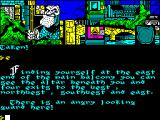 Hunchback: the Adventure ZX Spectrum A guard to contend with
