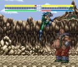 Hokuto no Ken 6: Gekitō Denshōken Haō e no Michi SNES Heart is standing there without moving