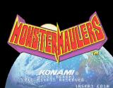 Monster Maulers Arcade Title screen