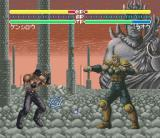 Hokuto no Ken 6: Gekitō Denshōken Haō e no Michi SNES Kenjirou vs. Raou: fight between brothers