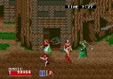 Golden Axe II Arcade Evil mage (Mega Play Version)