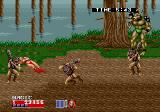 Golden Axe II Arcade Time to boss fight (Mega Play Version)