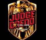 Judge Dredd SNES Title