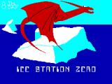 Ice Station Zero ZX Spectrum Loading Screen