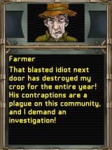 Mystery Case Files: Agent X J2ME First episode involves an angry farmer