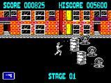 Jail Break ZX Spectrum Convicts in man-holes to avoid