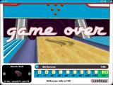 Gutterball 3D Windows Game Over