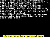 Witch Hunt ZX Spectrum The story