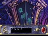 Roberta Williams' King's Quest VII: The Princeless Bride DOS Close-up on a strange door