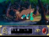 Roberta Williams' King's Quest VII: The Princeless Bride DOS Of course. If the forest gets darker it can only mean I'll soon be mauled by another creature very soon