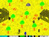 Who Dares Wins II ZX Spectrum Start of your mission
