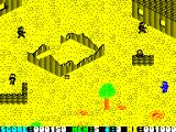 Who Dares Wins II ZX Spectrum Throw some grenades