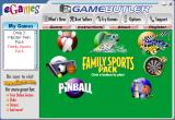 Family Sports Pack Windows This is how the product appears in eGames Games Butler along with other products under Windows XP.