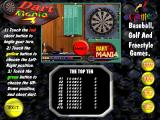 Family Sports Pack Windows The start screen for Darts Mania