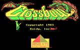 Crossbow DOS Title screen (CGA)