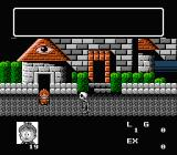 Akuma-kun: Makai no Wana NES Starting location with skeletons walking around