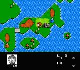 Akuma-kun: Makai no Wana NES World map
