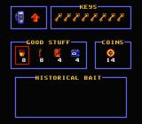 Bill & Ted's Excellent Video Game Adventure NES Menu
