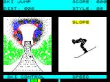 Winter Sports ZX Spectrum Ski Jumping