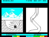 Winter Sports ZX Spectrum Bobsled