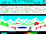 Winter Sports ZX Spectrum Biathlon