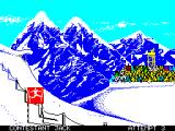 Winter Games ZX Spectrum Hotdog
