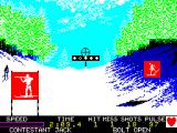 Winter Games ZX Spectrum Biathlon: Shooting