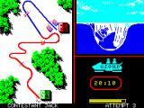 Winter Games ZX Spectrum Bobsled