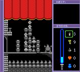 Puzzle Master Game Boy Color Game over