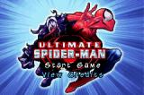 Ultimate Spider-Man Game Boy Advance Title/menu screen.