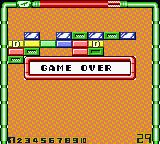 Dragon Dance Game Boy Color Game over