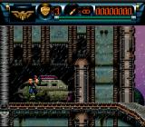 Judge Dredd SNES Dredd in the rain