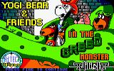 Yogi Bear & Friends in the Greed Monster: A Treasure Hunt Amstrad CPC Loading Screen