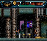 Judge Dredd SNES His feet are on fire