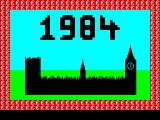 1984: A Game of Government Management  (ZX Spectrum
