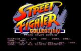 Street Fighter Collection SEGA Saturn Collection title screen