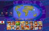 Street Fighter Collection SEGA Saturn SSF II Turbo character selection